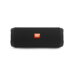 JBL 防水 Bluetooth ワイヤレス スピーカー FLIP4 ブラック|e-earphone