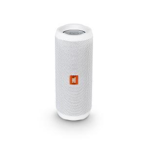 JBL 防水 Bluetooth ワイヤレス スピーカー FLIP4 ホワイト|e-earphone