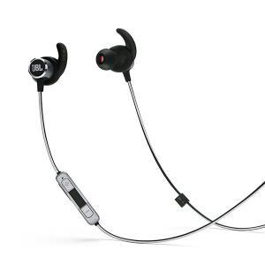ワイヤレス イヤホン JBL REFLECT MINI 2 ブラック (送料無料)|e-earphone