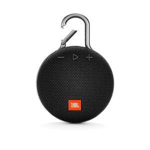 防水 お風呂 Bluetooth スピーカー JBL CLIP3 ブラック (JBLCLIP3BLK)|e-earphone