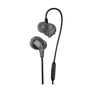 スポーツイヤホン JBL ENDURANCE RUN BLK ブラック マグネット採用 カナル型 防水 イヤフォン|e-earphone