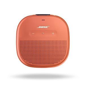 Bluetooth ワイヤレス スピーカー Bose SoundLink Micro ORG オレン...