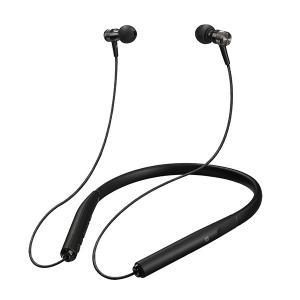 Bluetooth イヤホン JVC HA-FD70BT-B ブラック 高音質 ネックバンド型 ワイヤレス iPhone向け イヤフォン (送料無料)|e-earphone