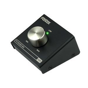 FOSTEX フォステクス PC100USB-HR2  ハイレゾ対応DAC搭載ボリュームコントローラー (送料無料) (1年保証)|e-earphone