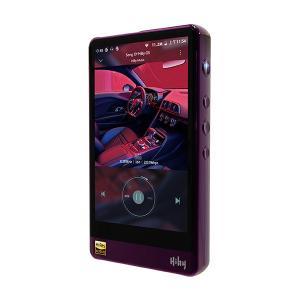 高音質 デジタルオーディオプレーヤー HiByMusic R6Pro Purple 4.4mmバラン...