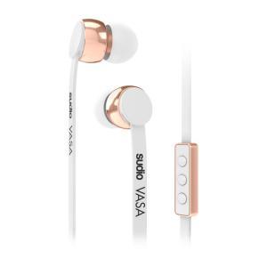 SUDIO スーディオ VASA ホワイト 北欧生まれのおしゃれなカナル型イヤホン (送料無料)|e-earphone