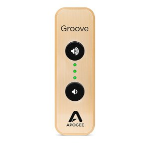 Apogee(アポジー) GROOVE 30th Ann. Gold USB DAC and headphone Amp(PC対応ポータブルUSB DAC) (送料無料)|e-earphone