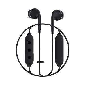 Happy Plugs WIRELESS2 BLACK 【7621】 おしゃれ かわいい Bluetooth 両耳 ワイヤレス イヤホン (送料無料)|e-earphone