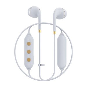 Happy Plugs WIRELESS2 WHITE 【7622】 おしゃれ かわいい Bluetooth 両耳 ワイヤレス イヤホン (送料無料)|e-earphone