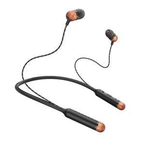 (お取り寄せ) House of Marley EM SMILE JAMAICA WIRELESS SB シグネイチャーブラック ネックバンド型 ワイヤレス Bluetooth イヤホン (送料無料)|e-earphone