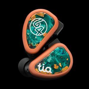 高音質 ケーブル着脱式 カナル型 イヤホン 64AUDIO tia Fourte (送料無料(代引き不可)) e-earphone