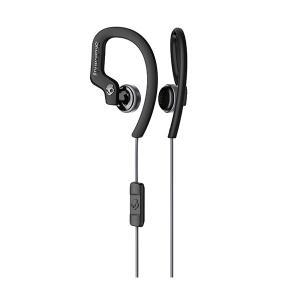 Skullcandy スカルキャンディー CHOPS FLEX BLACK/GRAY 防滴 IPX4 おしゃれ 耳かけ式 イヤホン e-earphone