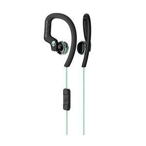 Skullcandy スカルキャンディー CHOPS FLEX BLACK/MINT 防滴 IPX4 おしゃれ 耳かけ式 イヤホン e-earphone