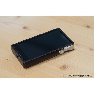 IRIVER A&ultima SP1000 Case Dark Brown (送料無料)|e-earphone