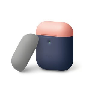elago AIRPODS DUO CASE for AirPods 2nd ジーンインディゴ2 【...
