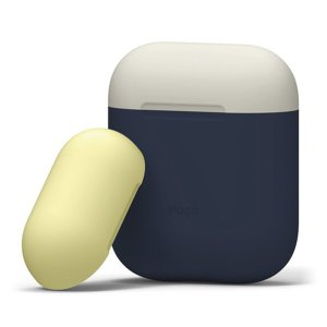 elago エラゴ AIRPODS DUO CASE for AirPods ジーンインディゴ Ai...