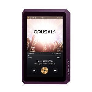 デジタルオーディオプレーヤー audio-opus OPUS#1S ミッドナイトパープル mp3プレーヤー 本体 高音質 (送料無料)|e-earphone