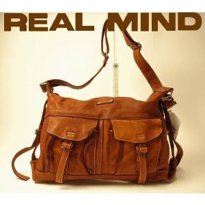 ショルダーバッグ メンズ レディース 日本製 日本老舗バッグメーカーリリー リアルマインド REAL...