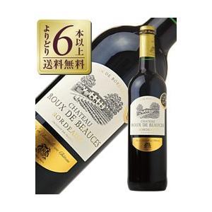 赤ワイン フランス ボルドー 金賞受賞ボルドーワイン シャトー ルー ドゥ ボーセ ルージュ 2015 750ml wine 金賞ワイン 金賞ボルドー|e-felicity