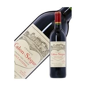 赤ワイン フランス ボルドー シャトー カロン セギュール 2001 750ml 格付け第3級 wine e-felicity