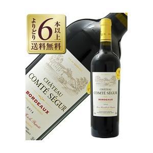 赤ワイン フランス ボルドー 金賞受賞ボルドーワイン シャトー コンテ セギュール 2014 750ml wine 金賞ワイン 金賞ボルドー|e-felicity