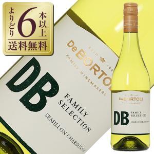 白ワイン オーストラリア デボルトリ ディービー(デ・ボルトリ・DB) ファミリーセレクション セミヨン シャルドネ 2020 750ml|酒類の総合専門店 フェリシティー