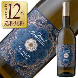白ワイン イタリア フェウド アランチョ グリッロ 2016 750ml wine|e-felicity