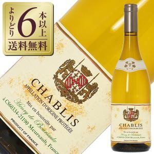 白ワイン フランス ブルゴーニュ アンリ ド ブルソー シャブリ 2018 750ml wine