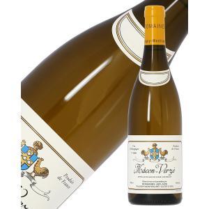 白ワイン フランス ブルゴーニュ ドメーヌ ルフレーヴ マコン ヴェルゼ 2016 750ml wi...