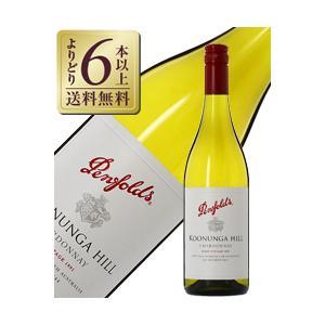 白ワイン オーストラリア ペンフォールズ クヌンガ ヒル シャルドネ 2018 750ml wine...