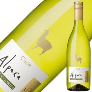 白ワイン チリ サンタ ヘレナ アルパカ シャルドネ セミヨン 2019 750ml wine