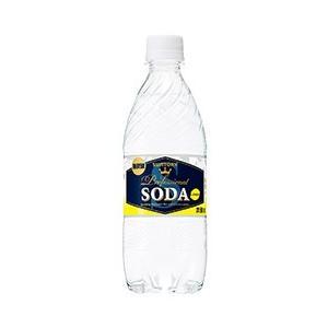 炭酸水 サントリーソーダ レモン 強炭酸 ペットボトル 490ml 西濃運輸 出荷不可 割り材 ソーダ soda|e-felicity