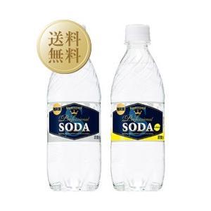 炭酸水 サントリーソーダ 強炭酸&レモン強炭酸 ペットボトル セット 各1ケース(合計2ケース) 48本入り 490ml 西濃運輸 不可 割り材 ソーダ soda|e-felicity