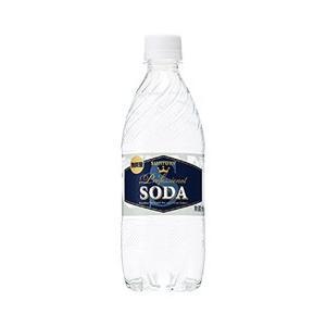 炭酸水 サントリーソーダ 強炭酸 ペットボトル 490ml 48本まで1梱包 西濃運輸 出荷不可 割り材 ソーダ soda|e-felicity