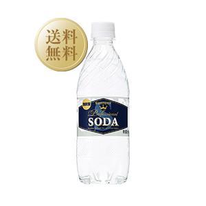 炭酸水 サントリーソーダ ペットボトル 強炭酸 490ml×24本(1ケース) 2ケーズで1梱包 西濃運輸 出荷不可 割り材 ソーダ soda|e-felicity