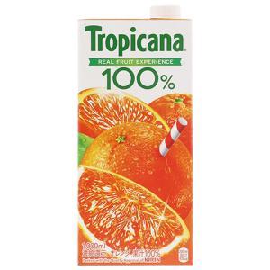 ジュース トロピカーナ100%ジュース オレンジ 1000ml(1L) 18本まで1梱包可能 割り材 juice|e-felicity