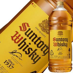 ウイスキー サントリー 角瓶 40度 4000ml(4L) ペットボトル 洋酒 whisky e-felicity