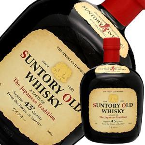 ウイスキー 同一商品12本購入で送料無料  サントリーウイスキー オールド 43度 700ml 洋酒 whisky e-felicity