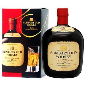 ウイスキー サントリーウイスキー オールド 43度 箱付 700ml 洋酒 whisky e-felicity