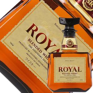 ウイスキー サントリー ローヤル 43度 700ml 洋酒 whisky 包装不可の商品画像 ナビ