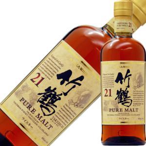ウイスキー ニッカ 竹鶴 21年 ピュアモルト スリムボトル 43度 700ml 洋酒 whisky|e-felicity