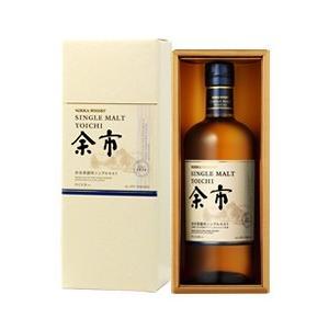 ウイスキー ニッカ シングルモルト 余市 45度 ギフトボックス 700ml 洋酒 whisky