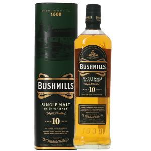 ウイスキー ブッシュミルズ 10年 40度 並行 箱付 700ml アイリッシュ 洋酒 whisky e-felicity
