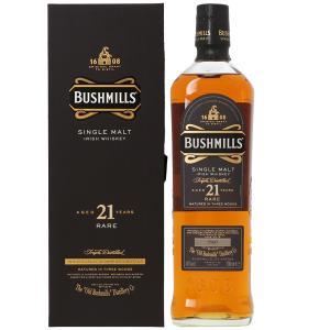 ウイスキー ブッシュミルズ 21年 40度 並行 箱付 700ml アイリッシュ 洋酒 whisky e-felicity