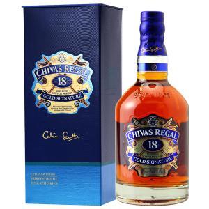ウイスキー シーバスリーガル 18年 40度 並行 箱付 (玉無) 750ml スコッチ 洋酒 whisky e-felicity