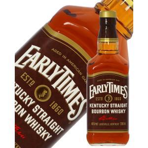 ウイスキー アーリータイムズ ブラウンラベル 40度 正規 700ml バーボン 洋酒 whisky|e-felicity