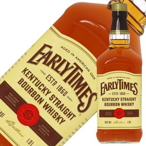 ウイスキー アーリータイムズ イエローラベル 40度 正規 1000ml バーボン 洋酒 whisky|e-felicity