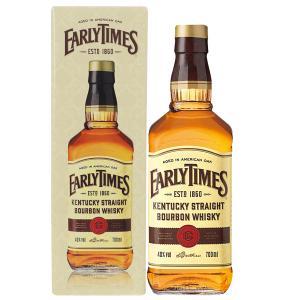 ウイスキー アーリータイムズ イエローラベル 40度 正規 箱付 700ml バーボン 洋酒 whisky|e-felicity