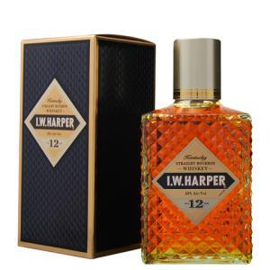ウイスキー IWハーパー 12年 43度 正規 箱付 750ml バーボン 洋酒 whisky