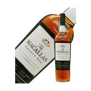 ウイスキー ザ マッカラン 1824 セレクトオーク 40度 並行 1000ml シングルモルト 洋...